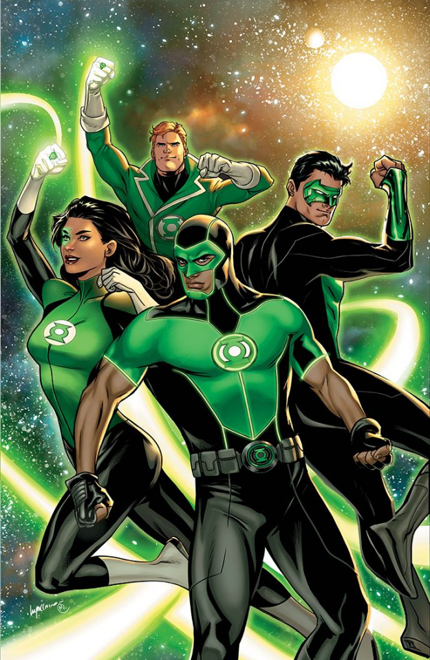 Green Lanterns #24 (Variant Cover)