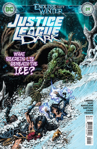 Justice League Dark #29 (Kyle Hotz Cover)