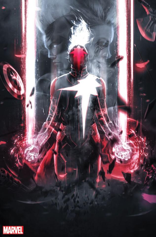 Captain Marvel #16 (Boss Logic Virgin Cover)