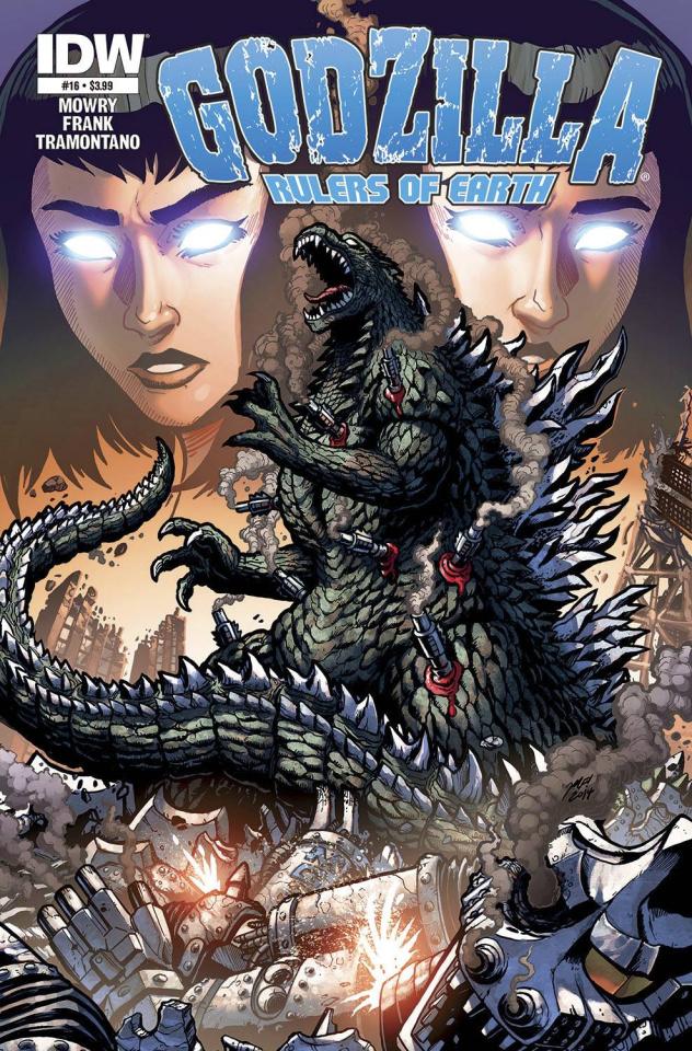 Godzilla: Rulers of Earth #16