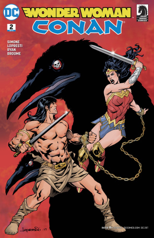 Wonder Woman / Conan #2 (Variant Cover)
