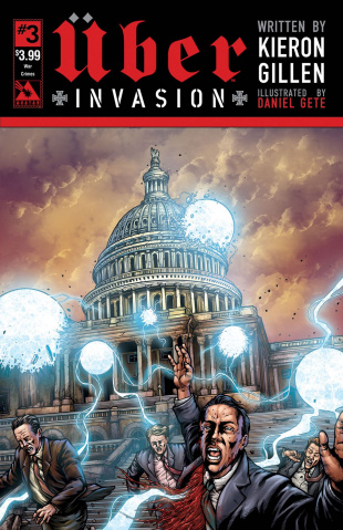 Über: Invasion #3 (War Crimes Cover)