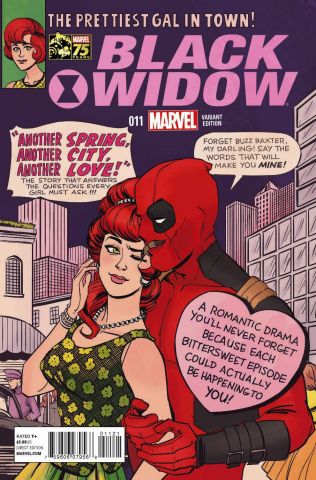 Black Widow #11 (Deadpool Cover)