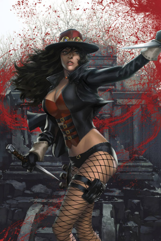 Grimm Fairy Tales: Van Helsing vs. Dracula #1 (Wimberly Cover)