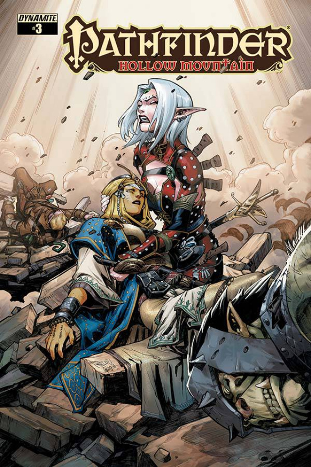 Pathfinder: Hollow Mountain #3 (Gomez Cover)