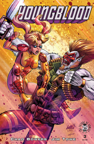 Youngblood #3 (Liefeld Cover)