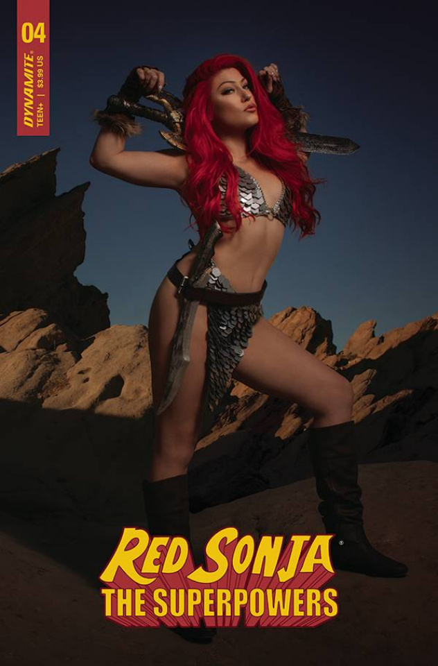 Red Sonja: The Superpowers #4 (Hollon Cosplay Cover)