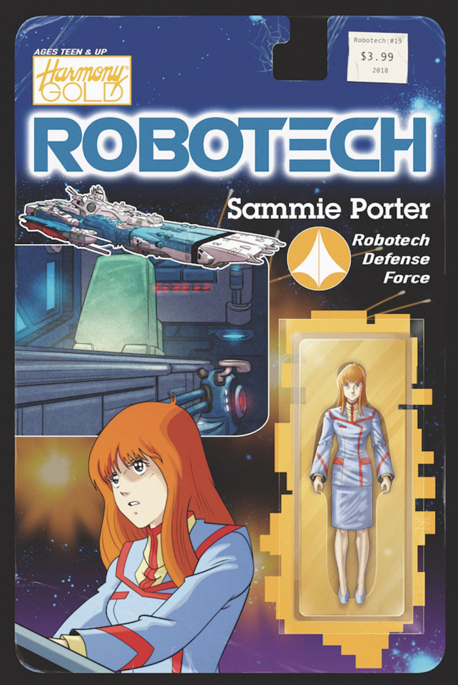 Robotech #19 (Action Figure Cover)