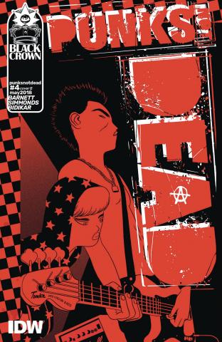 Punk's Not Dead #4 (Mann Cover)