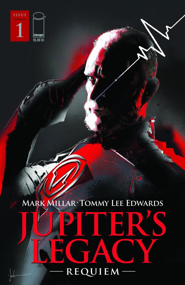 Jupiter's Legacy: Requiem #1 (Jock Cover)
