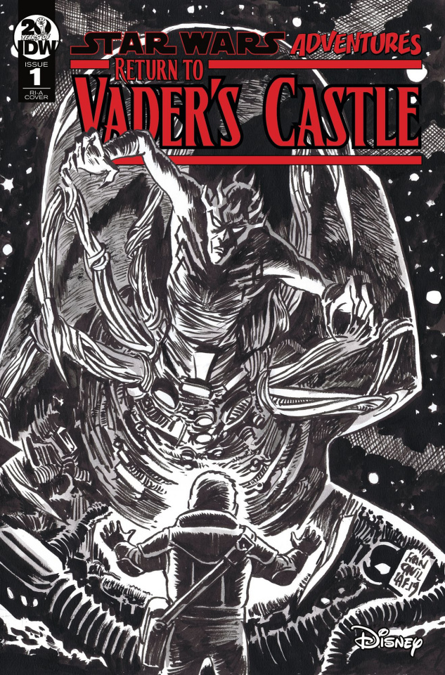Star Wars Adventures: Return to Vader's Castle #1 (10 Copy Cover)