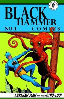 Black Hammer #4 (Lemire Cover)