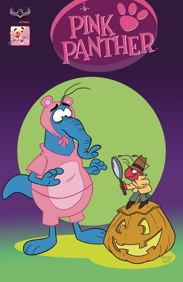 The Pink Panther: Trick or Pink #1 (Subscription Cover)