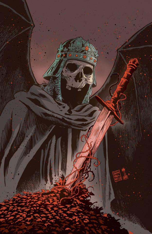 Unholy Grail #2 (Francavilla Cover)
