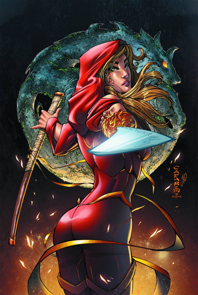 Grimm Fairy Tales: Code Red #2 (Cafaro Cover)