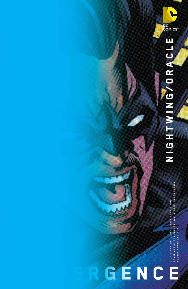Convergence: Nightwing / Oracle #2 (Chip Kidd Cover)