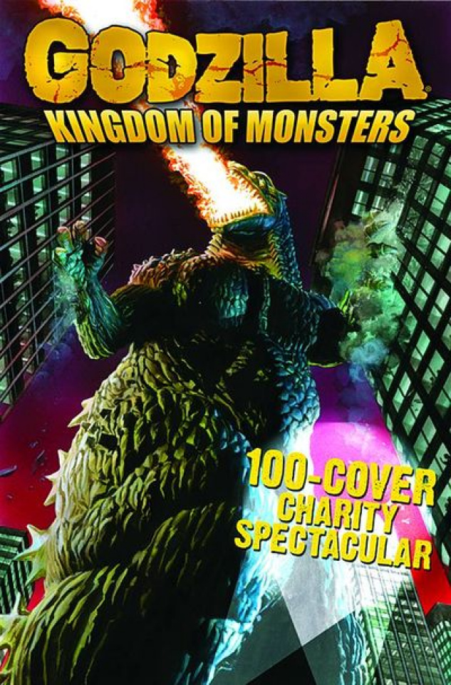 Godzilla: Kingdom of Monsters 100 Cover Charity Spectacular
