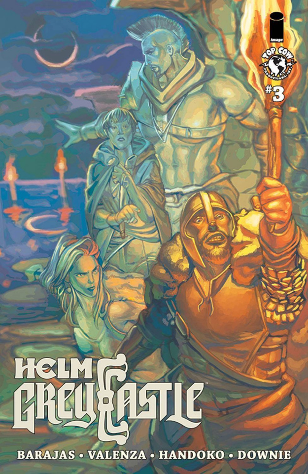 Helm Greycastle #3 (Downie Cover)