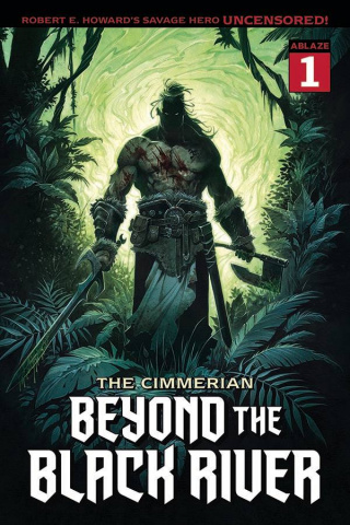 The Cimmerian: Beyond the Black River #1 (Jean Cover)