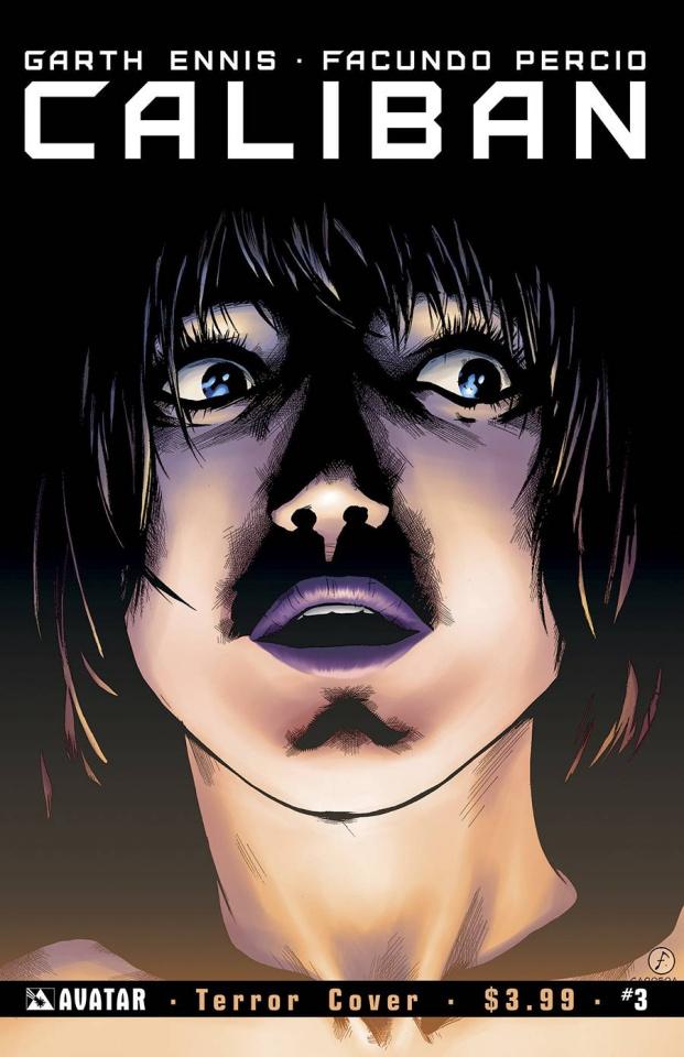Caliban #3 (Terror Cover)