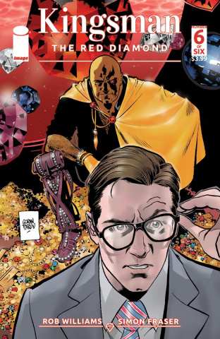 Kingsman: The Red Diamond #6 (Parlov Cover)