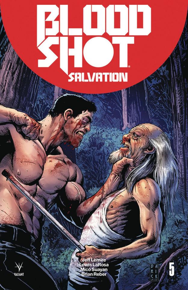 Bloodshot: Salvation #5 (Robertson Cover)