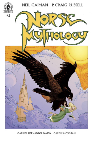 Norse Mythology II #5 (Russell Cover)