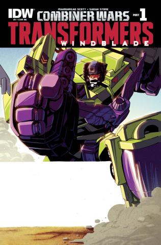 The Transformers: Windblade - Combiner Wars #1 (Retailer Cover)
