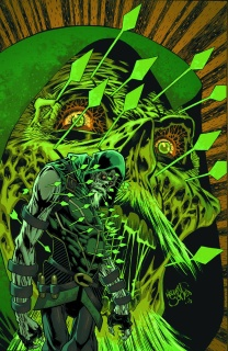 Green Arrow #45 (Monsters Cover)