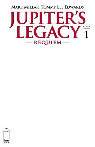 Jupiter's Legacy: Requiem #1 (Blank Cover)