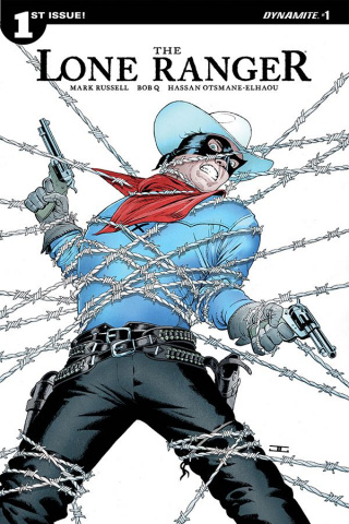 The Lone Ranger #1 (Cassaday Cover)