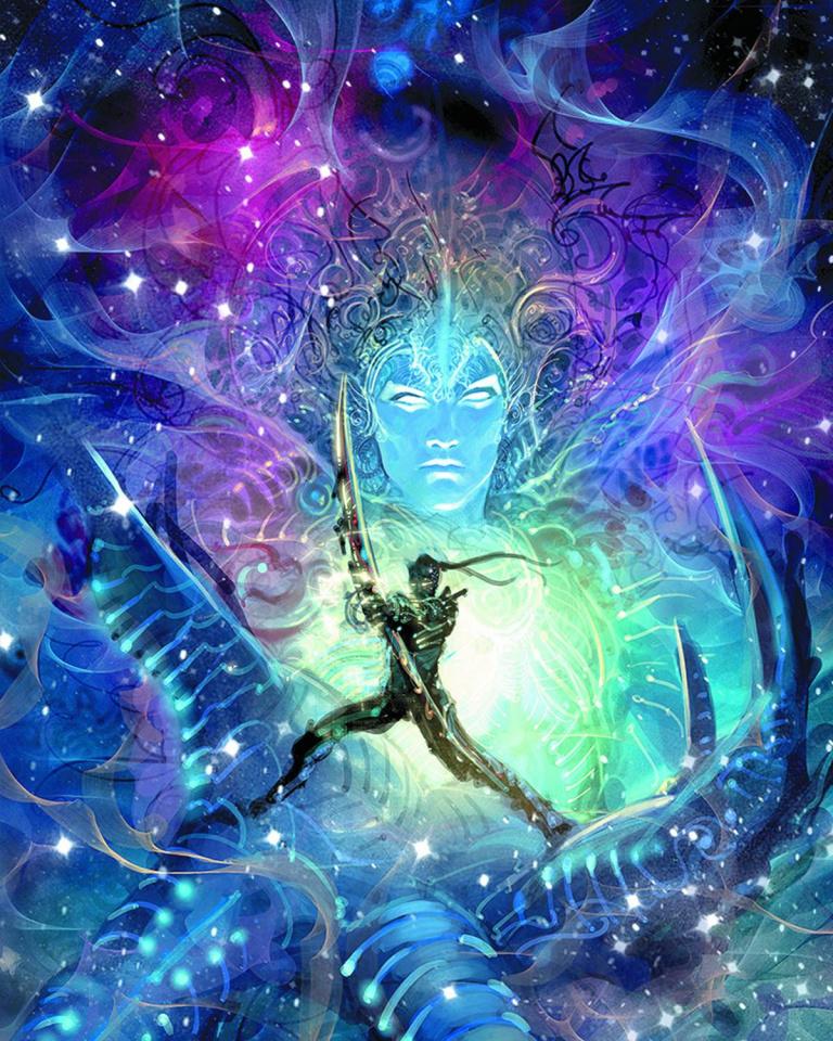 18 Days #1 (Cosmic Krishna Cover)