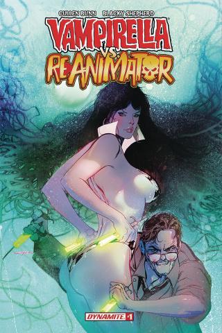 Vampirella vs. Reanimator #1 (Sayger Cover)
