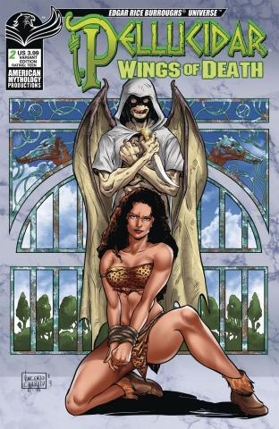 Pellucidar: Wings of Death #2 (Carratu Cover)