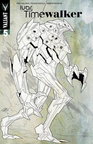 Ivar, Timewalker #5 (0 Copy Character Design Henry Cover)