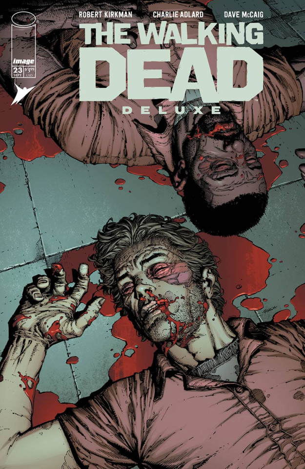 The Walking Dead Deluxe #23 (Finch & McCaig Cover)