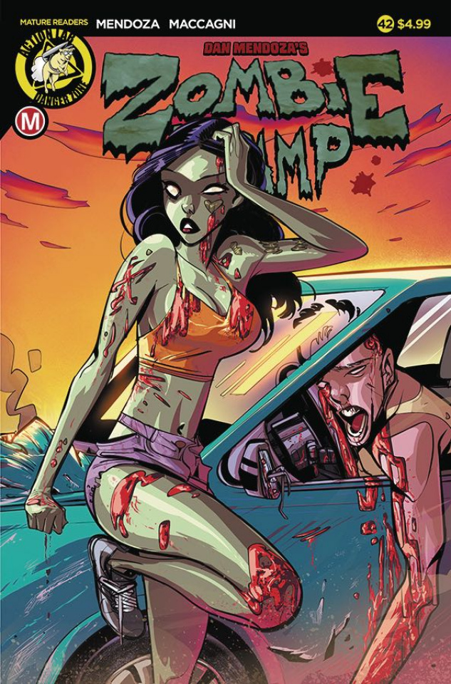 Zombie Tramp #42 (Celor Cover)