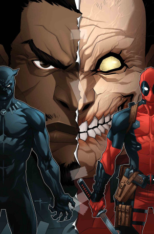 Black Panther vs. Deadpool #3 (Yildrim Cover)