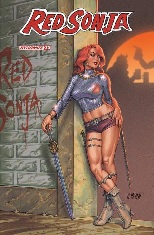 Red Sonja #25 (Linsner Cover)