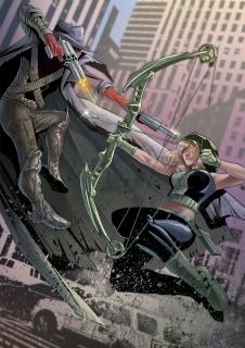 Grimm Fairy Tales: Robyn Hood - I Love NY #8 (Qualano Cover)