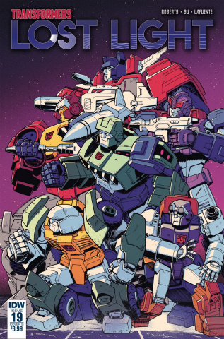 The Transformers: Lost Light #19 (Roche Cover)