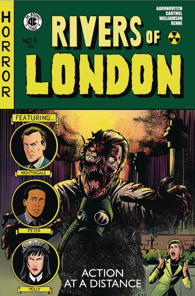 Rivers of London #4 (Action At A Distance Cover)