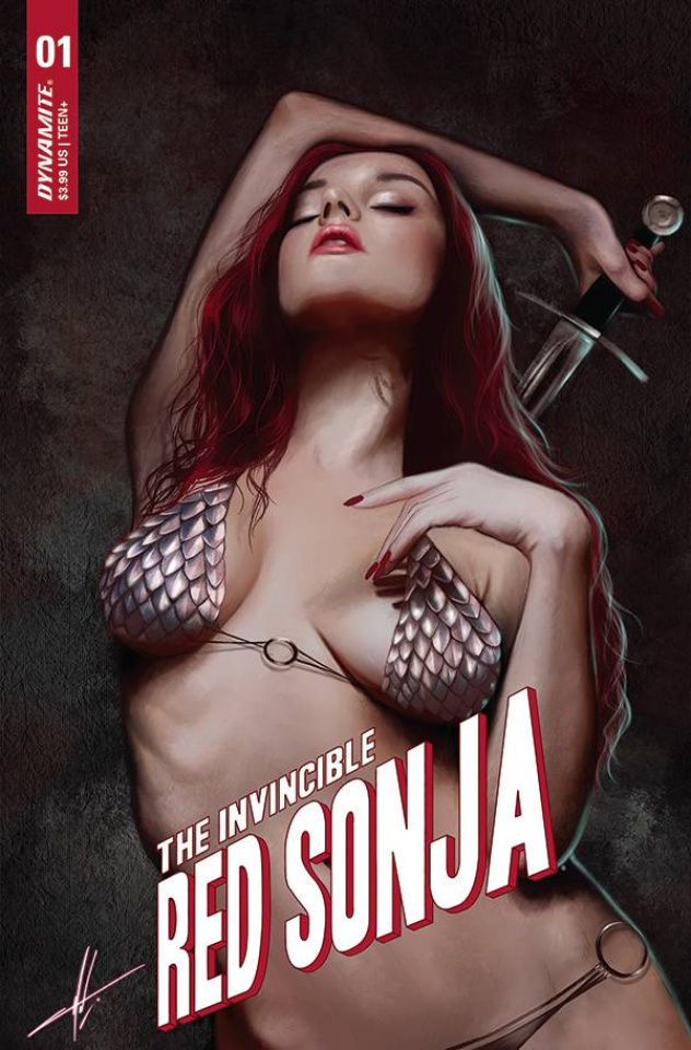 The Invincible Red Sonja #1 (10 Copy Cohen Trade Dress Cover)