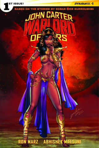 John Carter: Warlord of Mars #1 (10 Copy Luis Cover)