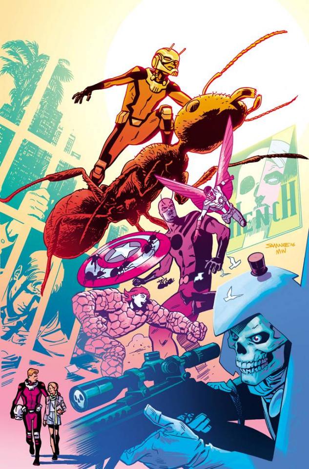 Astonishing Ant-Man #7 (Samnee Story Thus Far Cover)