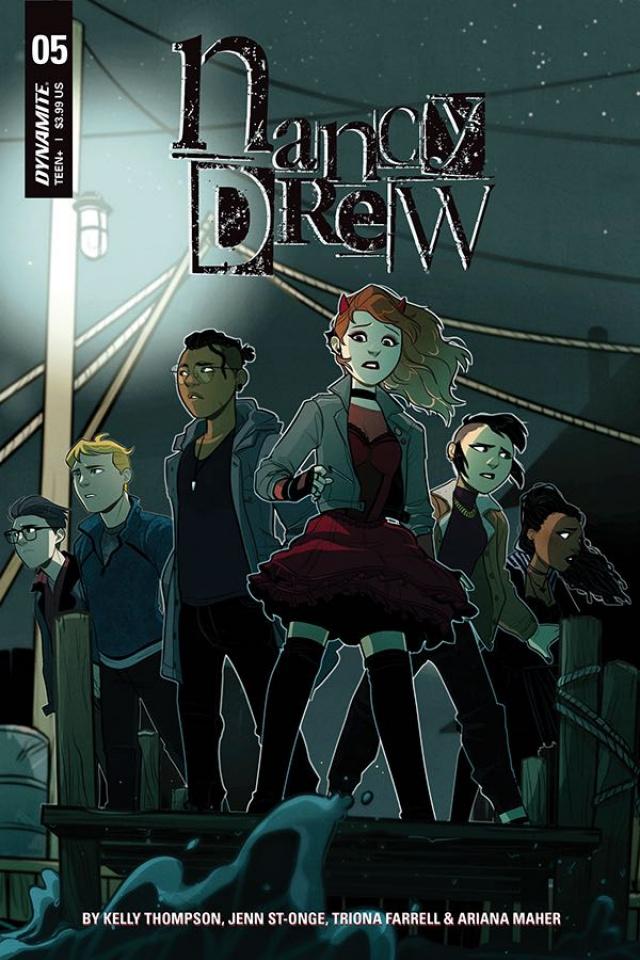 Nancy Drew #5 (St. Onge Cover)
