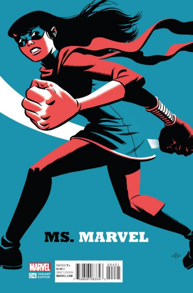 Ms. Marvel #4 (Cho Cover)