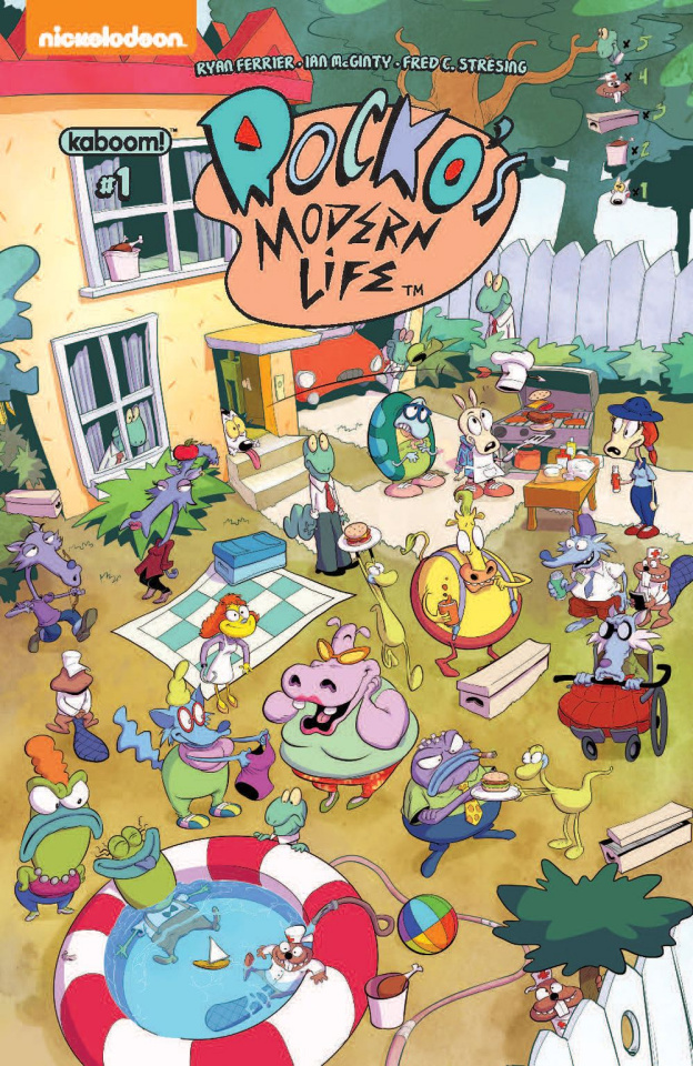 Rocko's Modern Life #1 (Look & Find Cover)