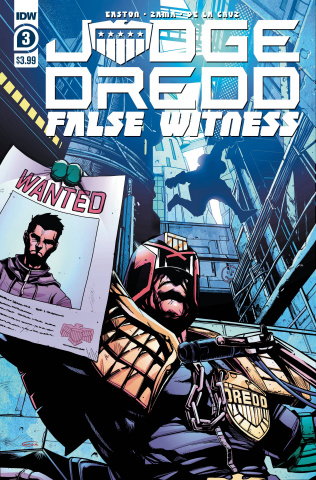 Judge Dredd: False Witness #3 (Zama Cover)