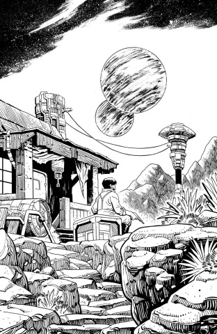 Firefly #27 (50 Copy Young B&W Cover)